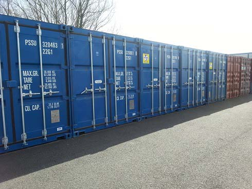 Kitson's Transport Temporary Storage Facilities