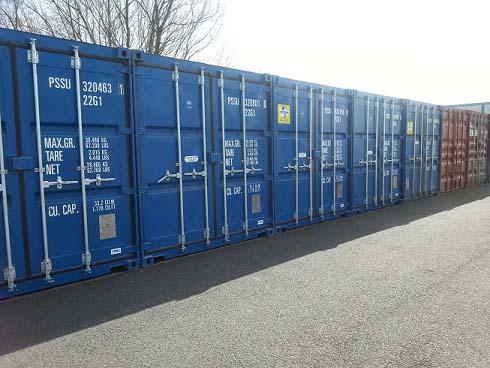 Kitson's Transport Temporary Storage Facilities