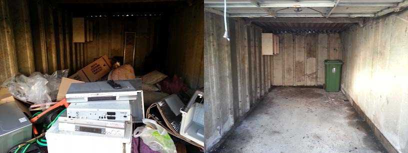 Garage Clearances from Professional Clearances Team
