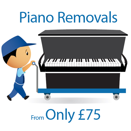 Piano Removals From Only £75