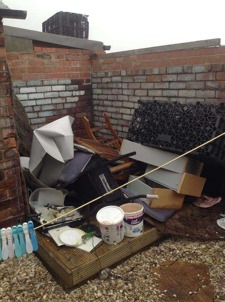Rubbish Clearance from Yard