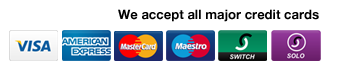 Credit Cards Accepted by Kitsons