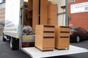 Unloading an Office Removal