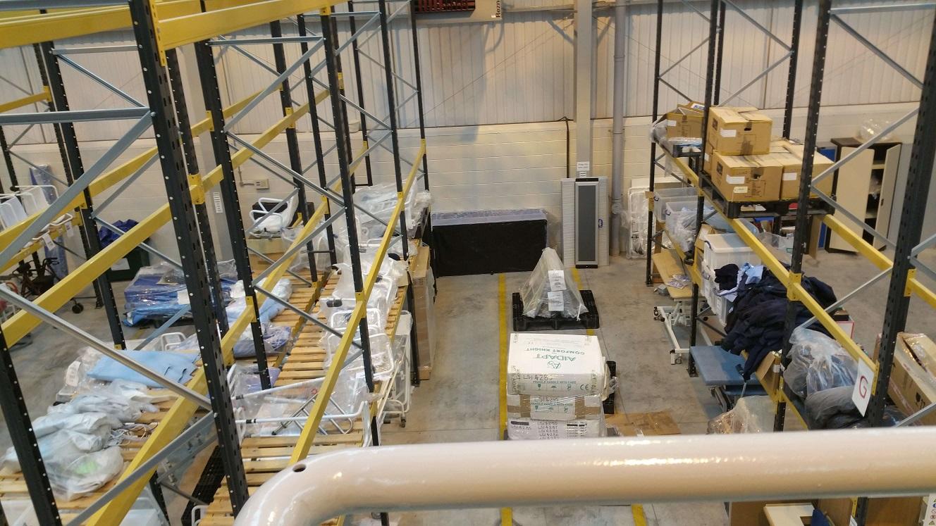 Medicash Warehouse Relocation