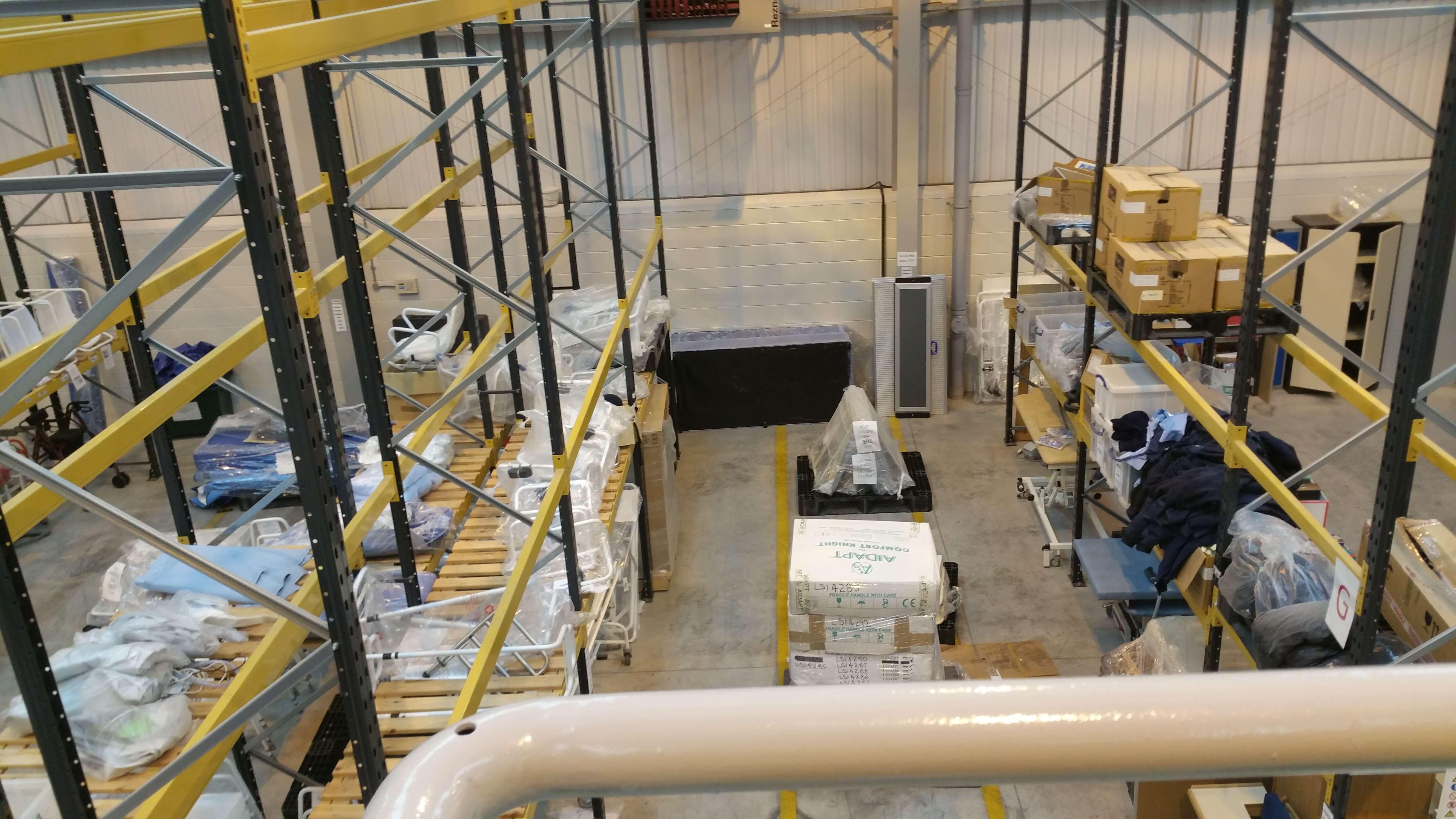 Medicash Warehouse Removal
