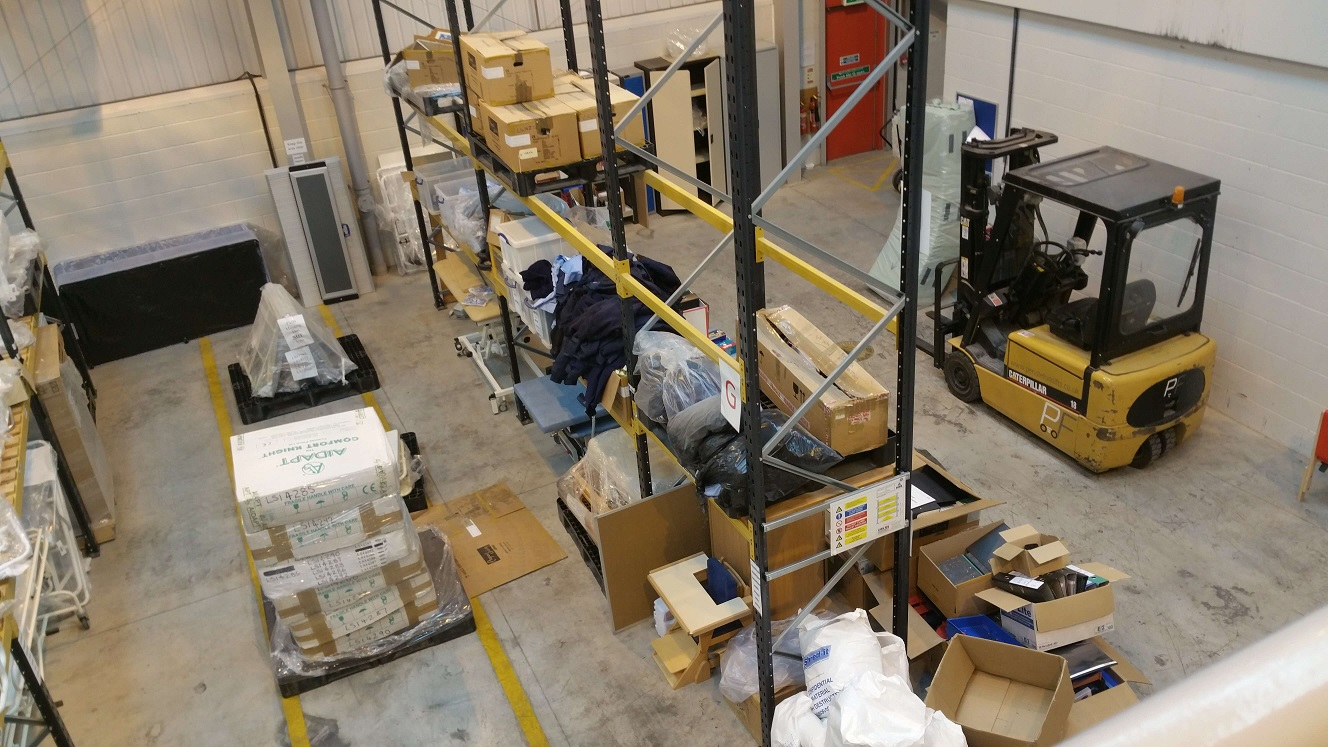 Medical Warehouse Removal
