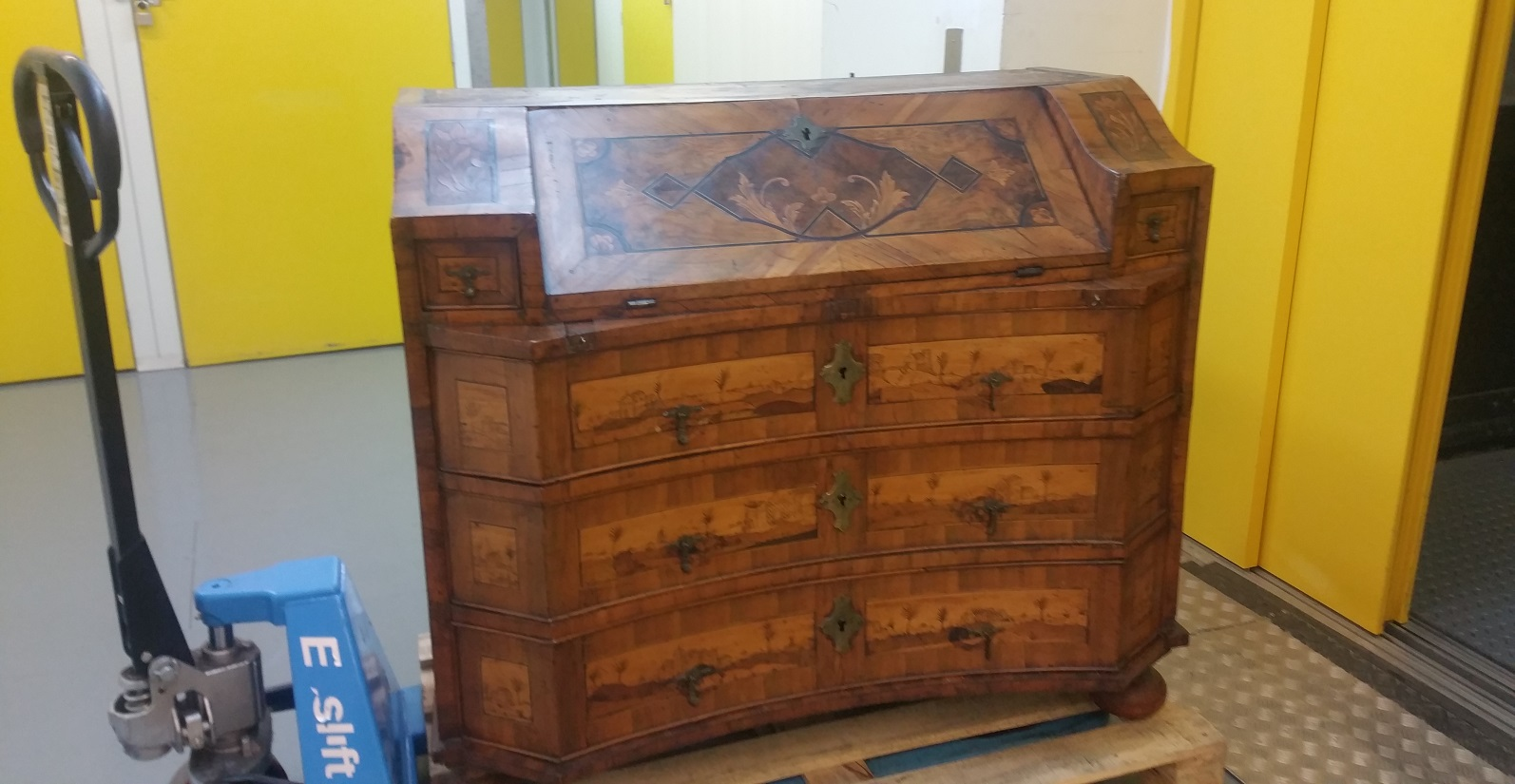 Antique Bookcase Removal
