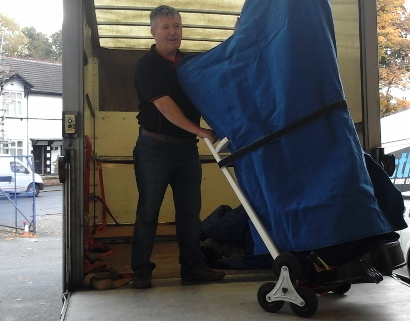 Harp Removal and Transportation