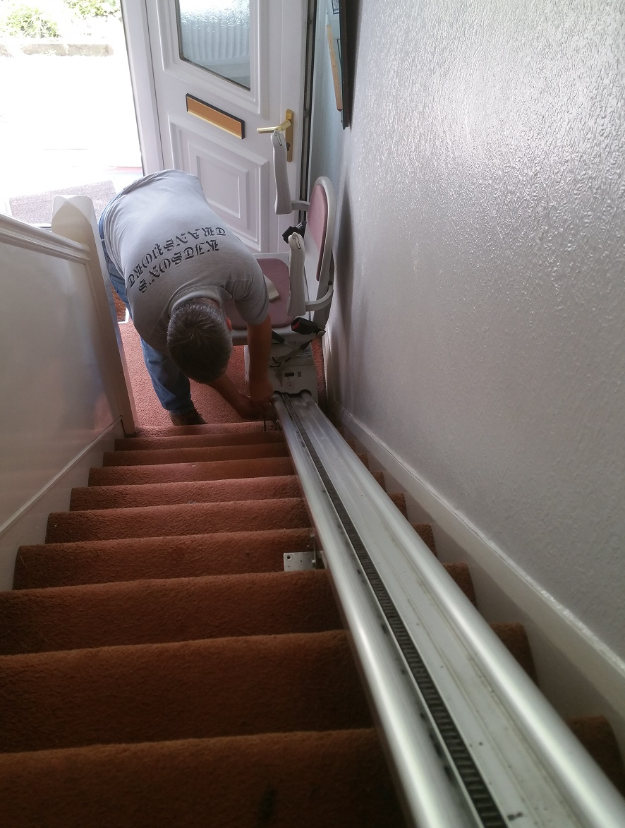 Electric Stairlift Removal Kitsons