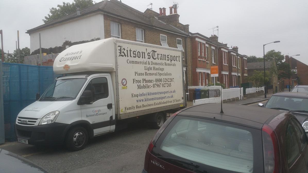 Kitsons Transport Van