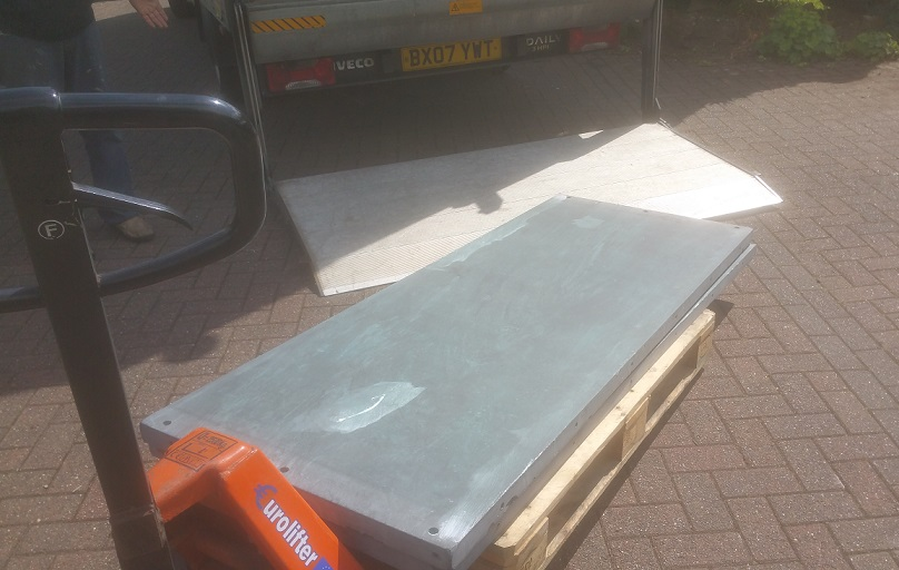 full size snooker table transport